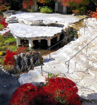 The Itchiku Kubota Museum in Kawaguchi-ko, Japan