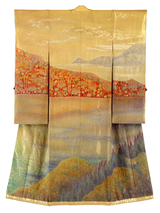 Kougaki/ A Tapestry of Colours Steeped with Persimmon