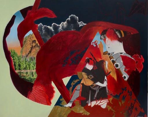 How one Ottawa painter unpacks his Japanese heritage through art