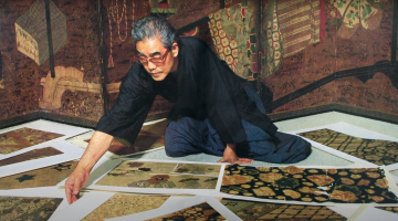 'Kubota Kimonos: A History on Silk' shortlisted by the Master of Art Film Festival jury